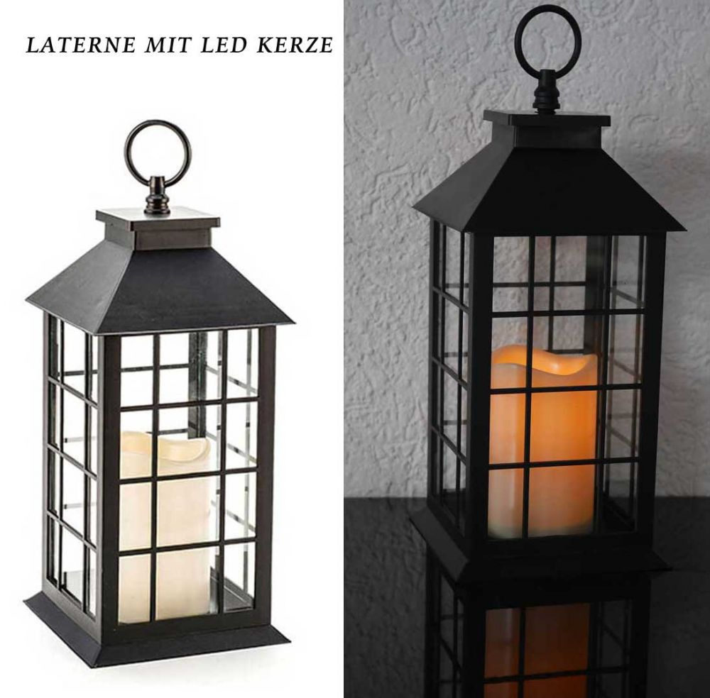 geschenkidee laterne mit led kerze. Black Bedroom Furniture Sets. Home Design Ideas