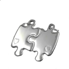 Partner-Schmuck Puzzle love heart