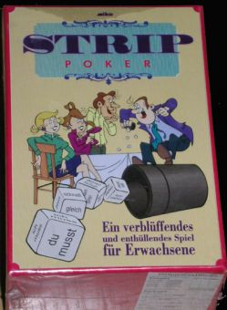 Strip Poker Partygeschenk