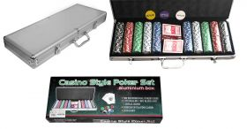 Poker-Set 500 11,5 Gramm Chips