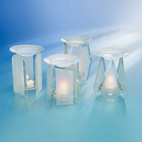 1 x Glas Duftlampe