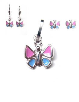 Kinderschmuck Set Schmetterling