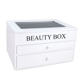 Schmuck Beauty Box Holz